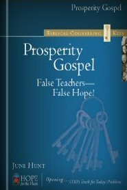 Biblical Counseling Keys on Prosperity Gospel