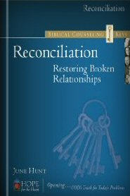 Biblical Counseling Keys on Reconciliation