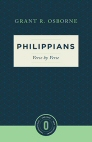 Philippians Verse by Verse (Osborne New Testament Commentaries)
