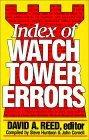 Index of Watchtower Errors