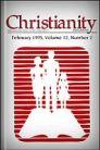Christianity Magazine: February, 1995: Do not Be Ashamed