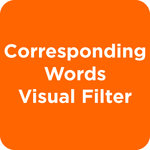 Corresponding Words Visual Filter