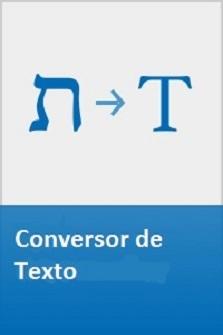 Conversor de Texto