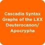 Cascadia Syntax Graphs of the LXX Deuterocanon/ Apocrypha