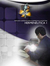 Principios generales para Interpretar la Escritura