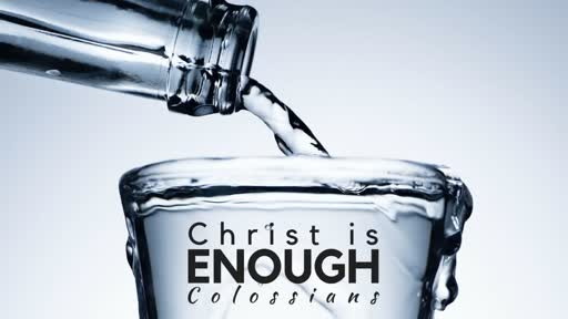 Colossians 3-4 : Christ - Submission