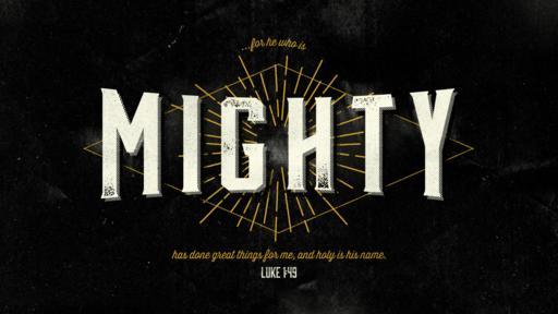 Luke 1:49 verse of the day image