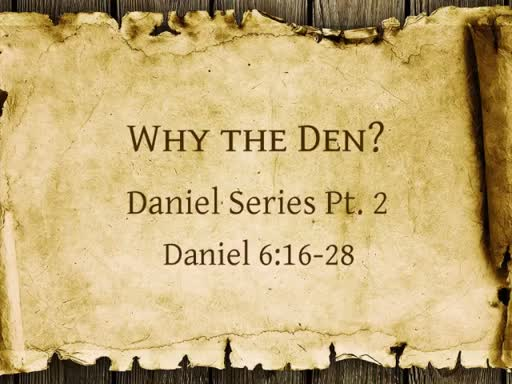 Why the Den?