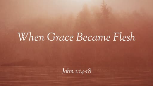 When Grace Became Flesh