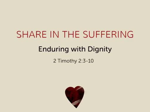 Share in the Suffering