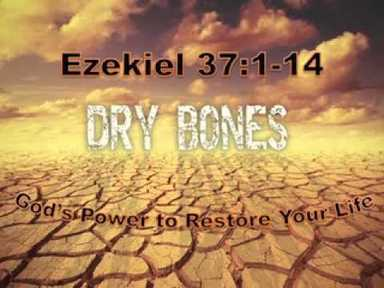 Gods Power to Restore Your Life