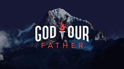 God Our Father subheader 16x9 PowerPoint Photoshop image