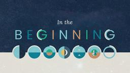 In the Beginning 16x9 PowerPoint Photoshop image