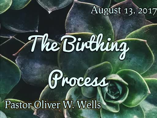 08.13.17 - The Birthing Process