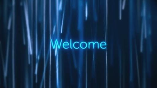 Glowing Rain - Welcome