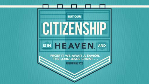 Philippians 3:20 verse of the day image