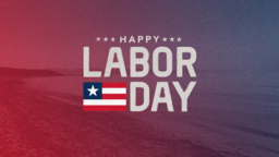 Happy Labor Day 16x9 PowerPoint Photoshop image
