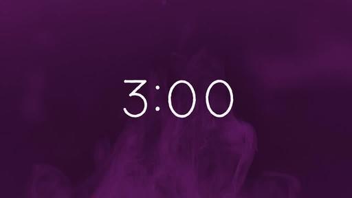 Purple Ink - Countdown 3 min
