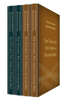 The New American Standard Bible Nasb Reverse