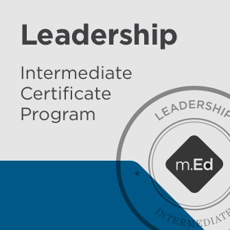 Leadership: Intermediate Certificate Program