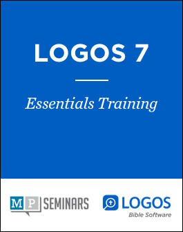 MP Seminars: Logos 7 Essentials Training