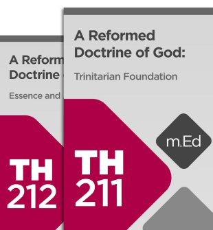 Mobile Ed: A Reformed Doctrine of God Bundle (2 courses)
