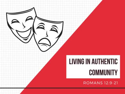 Living in Authentic Community
