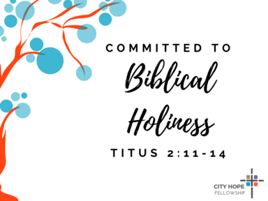 Committed To Biblical Holiness