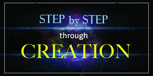 Step by Step Through Creation