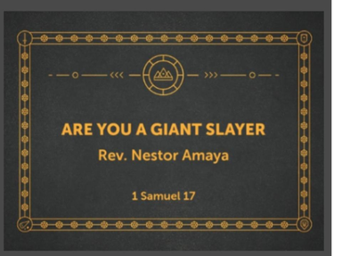 Are You a Giant Slayer?
