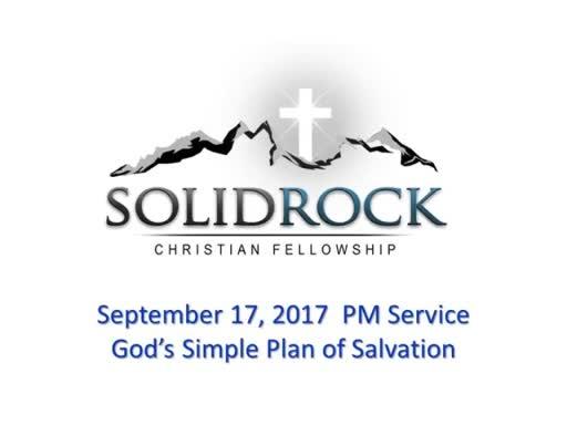 Sept 17 PM - The Plain Gospel