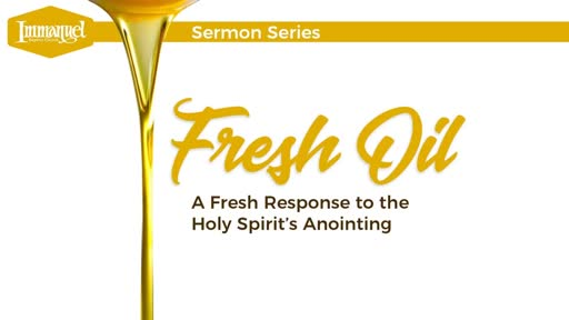 A Renewed Anointing