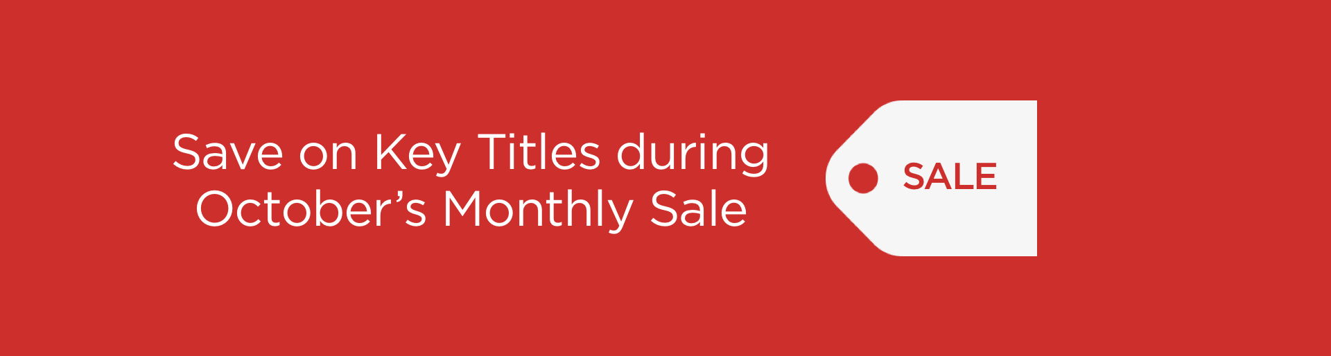 Monthly Sale 2017