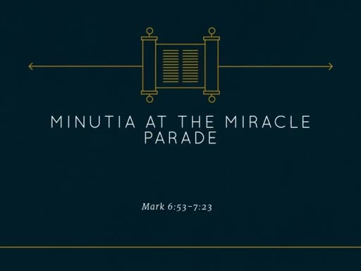 Minutia at the Miracle Parade