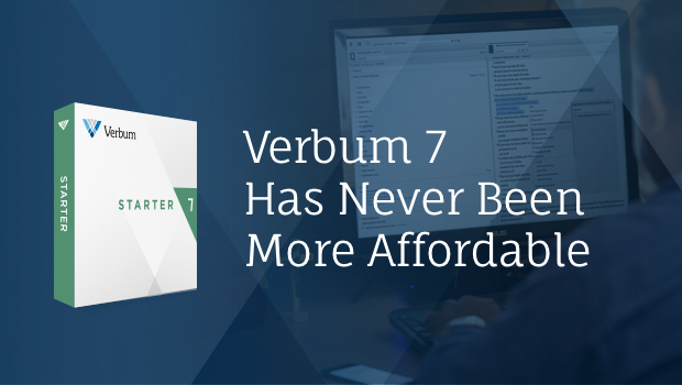 Get Verbum for under $200