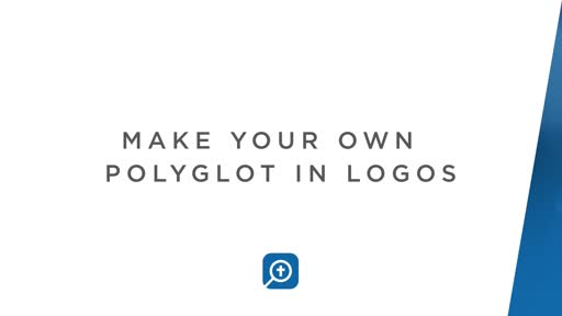 Make Your Own Polyglot In Logos