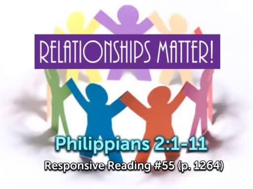 Relationships Matter!