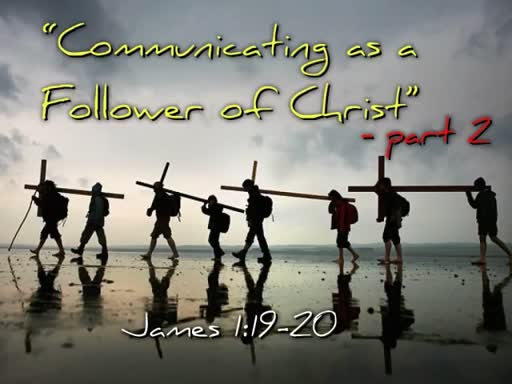 Communicating as a Follwer of Christ