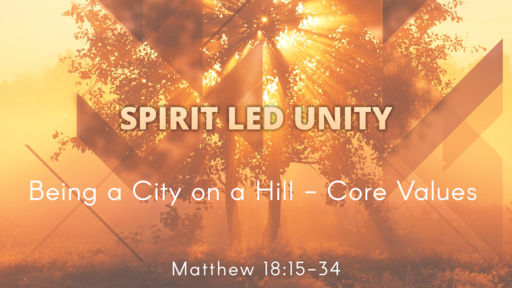October 1st, 2017 - Spirit Led Unity