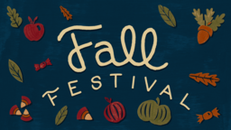 Fall Festival 16x9 PowerPoint image