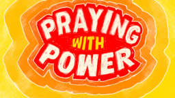 Praying With Power subheaders 16x9 PowerPoint Photoshop image