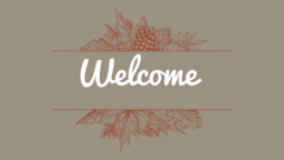In All Things Give Thanks welcome 16x9 PowerPoint Photoshop image