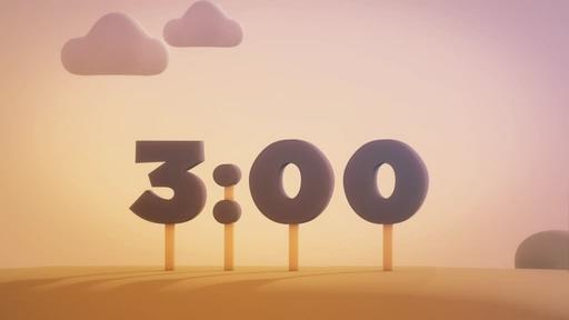 Animated Autumn - Countdown 3 min