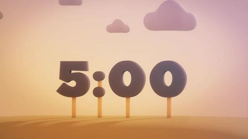 Animated Autumn - Countdown 5 min