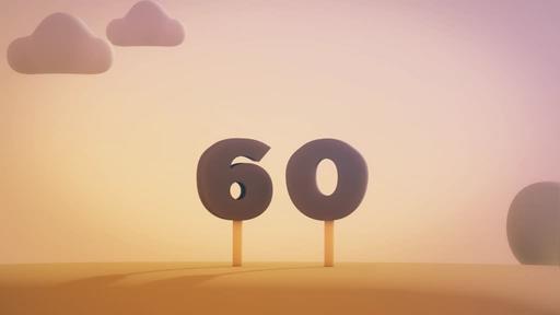 Animated Autumn - Countdown 1 min