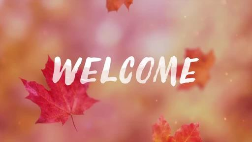 Falling Leaves - Welcome