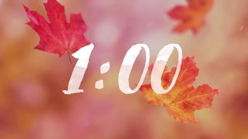 Falling Leaves - Countdown 1 min