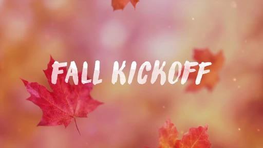 Falling Leaves - Fall Kickoff