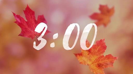 Falling Leaves - Countdown 3 min