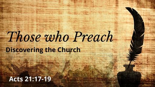 Those who Preach